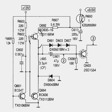 Ремонт SHARP DV-5450 (S3B)