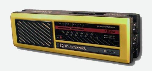 Радиоприемник ABAVA РП 8330