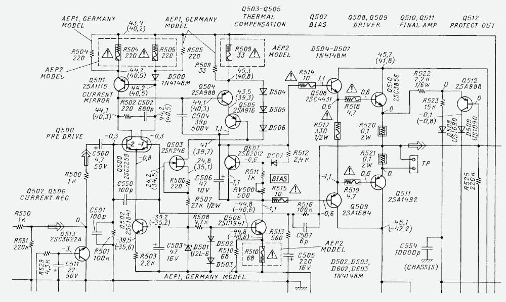 О ремонте и доработке транзисторного усилителя SONY F419R