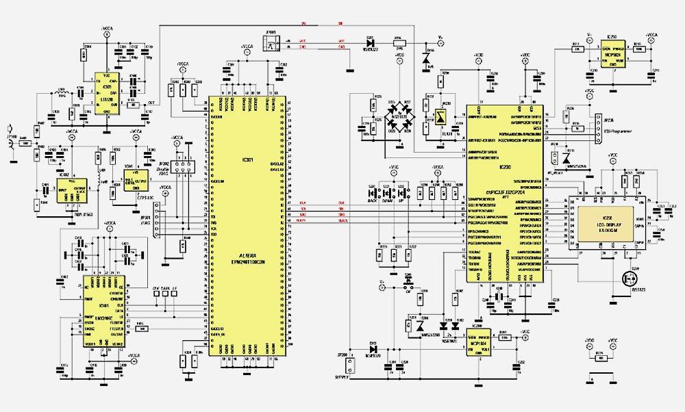 3 ГГц измеритель частоты и уровня сигнала
