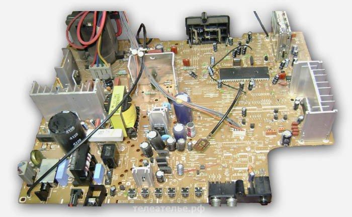 Телевизор LG шасси MC-049B
