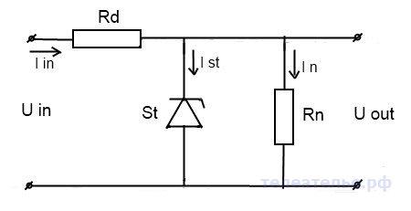 Ионный (полупроводниковый) стабилизатор