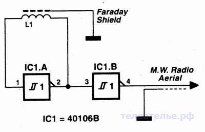 Простейший детектор метала