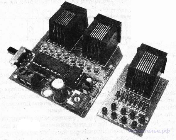 Тестер компьютерной витой пары