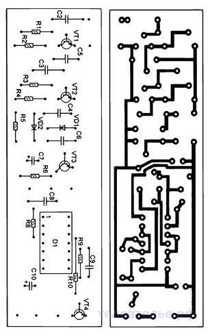 Охранная система со связью по водопроводной трубе