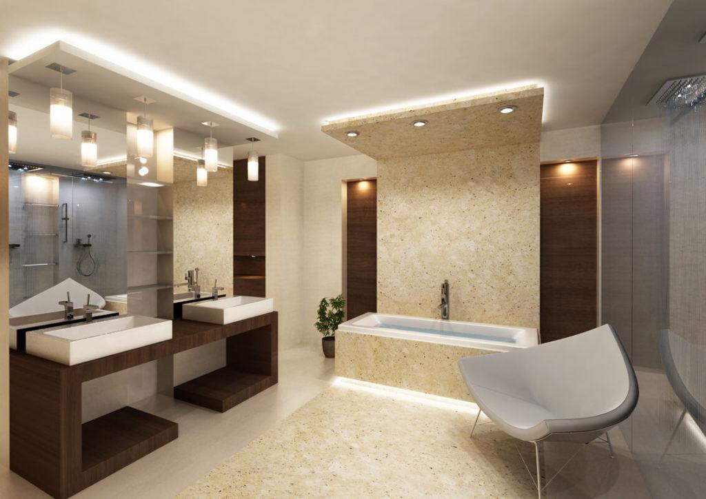Как выбрать лучший потолочный светильник для ванной.